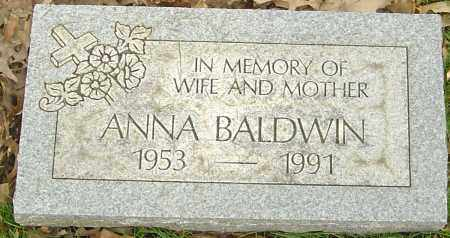 BEZRUCZKO BALDWIN, ANNA - Franklin County, Ohio | ANNA BEZRUCZKO BALDWIN - Ohio Gravestone Photos