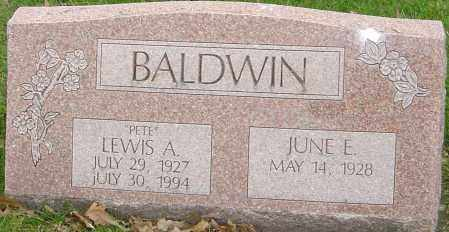 BALDWIN, LEWIS A - Franklin County, Ohio | LEWIS A BALDWIN - Ohio Gravestone Photos