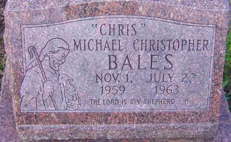 BALES, MICHAEL CHRISTOPHER - Franklin County, Ohio | MICHAEL CHRISTOPHER BALES - Ohio Gravestone Photos