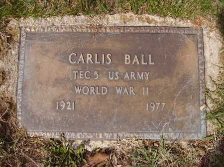 BALL, CARLIS - Franklin County, Ohio | CARLIS BALL - Ohio Gravestone Photos