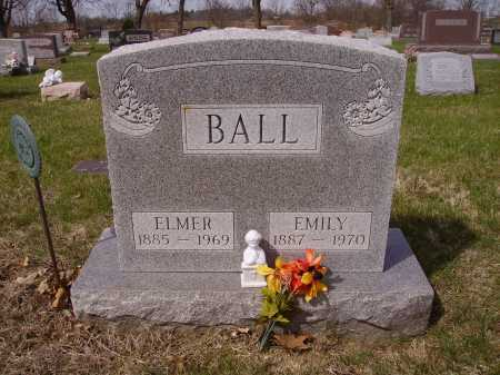 BALL, EMILY - Franklin County, Ohio | EMILY BALL - Ohio Gravestone Photos