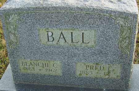 BALL, FRED - Franklin County, Ohio | FRED BALL - Ohio Gravestone Photos