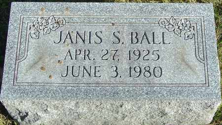 BALL, JANIS - Franklin County, Ohio | JANIS BALL - Ohio Gravestone Photos