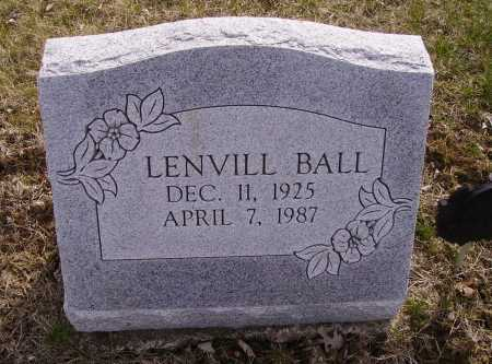 BALL, LENVILL - Franklin County, Ohio | LENVILL BALL - Ohio Gravestone Photos