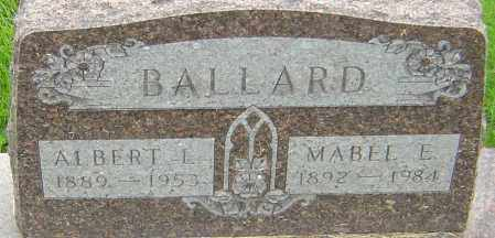 BALLARD, MABEL E - Franklin County, Ohio | MABEL E BALLARD - Ohio Gravestone Photos