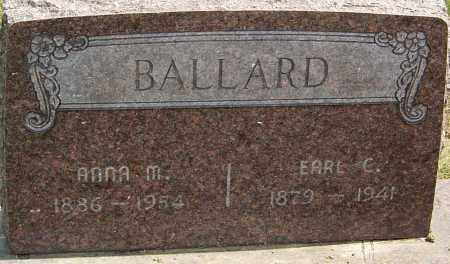BALLARD, ANNA M - Franklin County, Ohio | ANNA M BALLARD - Ohio Gravestone Photos