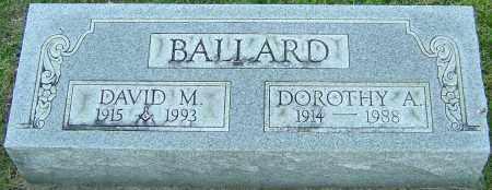 BALLARD, DAVID M - Franklin County, Ohio | DAVID M BALLARD - Ohio Gravestone Photos