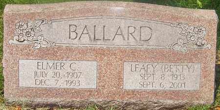 BALLARD, LEAFY (BETTY) - Franklin County, Ohio | LEAFY (BETTY) BALLARD - Ohio Gravestone Photos