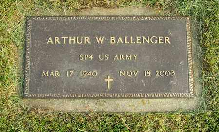 BALLENGER, ARTHUR W. - Franklin County, Ohio | ARTHUR W. BALLENGER - Ohio Gravestone Photos