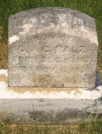 BALZ, CHILD - Franklin County, Ohio | CHILD BALZ - Ohio Gravestone Photos