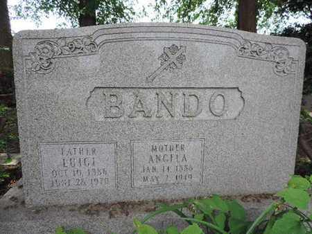 BANDO, ANGELA - Franklin County, Ohio | ANGELA BANDO - Ohio Gravestone Photos