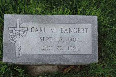 BANGERT, CARL M - Franklin County, Ohio | CARL M BANGERT - Ohio Gravestone Photos