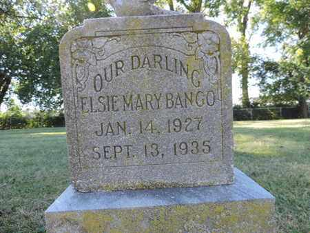 BANGO, ELSIE MARY - Franklin County, Ohio | ELSIE MARY BANGO - Ohio Gravestone Photos