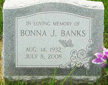 BANKS, BONNA J - Franklin County, Ohio | BONNA J BANKS - Ohio Gravestone Photos