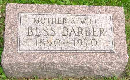 "BARBER, ELIZABETH ""BESS"" - Franklin County, Ohio 