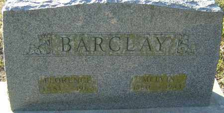 BARCLAY, FLORENCE - Franklin County, Ohio | FLORENCE BARCLAY - Ohio Gravestone Photos