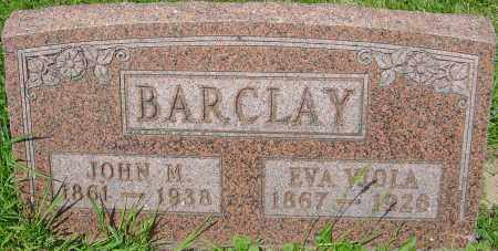 BARCLAY, JOHN M - Franklin County, Ohio | JOHN M BARCLAY - Ohio Gravestone Photos