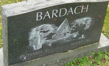 BARDACH, RICHARD - Franklin County, Ohio | RICHARD BARDACH - Ohio Gravestone Photos