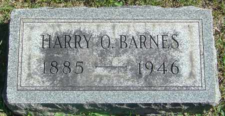 BARNES, HARRY ORLANDO - Franklin County, Ohio | HARRY ORLANDO BARNES - Ohio Gravestone Photos