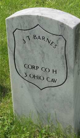 BARNES, J. T. - Franklin County, Ohio | J. T. BARNES - Ohio Gravestone Photos