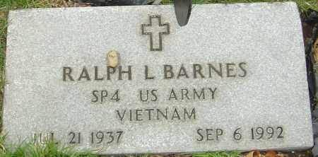 BARNES, RALPH L - Franklin County, Ohio | RALPH L BARNES - Ohio Gravestone Photos