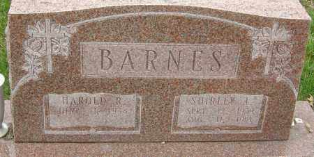 BARNES, SHIRLEY L - Franklin County, Ohio | SHIRLEY L BARNES - Ohio Gravestone Photos