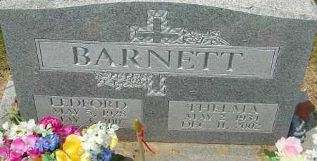 BARNETT, LEDFORD - Franklin County, Ohio | LEDFORD BARNETT - Ohio Gravestone Photos