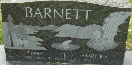 BARNETT, TERRY - Franklin County, Ohio | TERRY BARNETT - Ohio Gravestone Photos