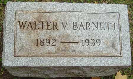 BARNETT, WALTER VERNE - Franklin County, Ohio | WALTER VERNE BARNETT - Ohio Gravestone Photos