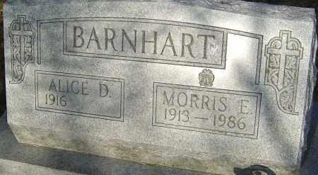 BARNHART, ALICE - Franklin County, Ohio | ALICE BARNHART - Ohio Gravestone Photos