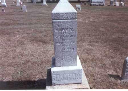 BARNHART, MARY E. - Franklin County, Ohio | MARY E. BARNHART - Ohio Gravestone Photos
