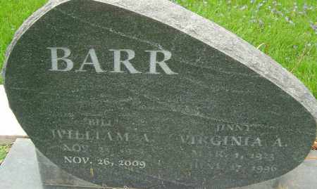 BARR, VIRGINIA A - Franklin County, Ohio | VIRGINIA A BARR - Ohio Gravestone Photos