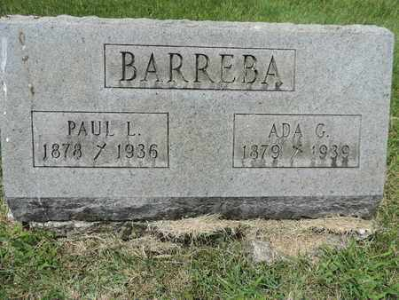 BARREBA, ADA G. - Franklin County, Ohio | ADA G. BARREBA - Ohio Gravestone Photos