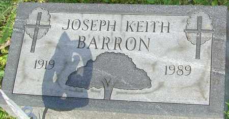 BARRON, JOSEPH - Franklin County, Ohio | JOSEPH BARRON - Ohio Gravestone Photos