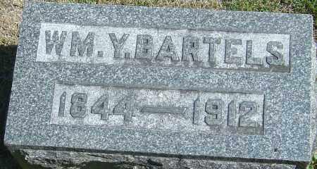 BARTELS, WM.  Y. - Franklin County, Ohio | WM.  Y. BARTELS - Ohio Gravestone Photos