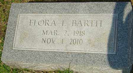 BARTH, FLORA I - Franklin County, Ohio | FLORA I BARTH - Ohio Gravestone Photos