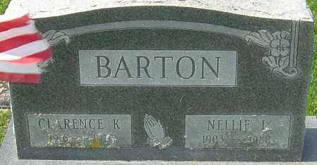 BARTON, NELLIE L - Franklin County, Ohio | NELLIE L BARTON - Ohio Gravestone Photos