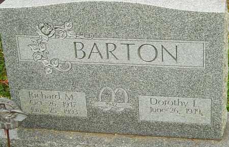 BARTON, RICHARD - Franklin County, Ohio | RICHARD BARTON - Ohio Gravestone Photos