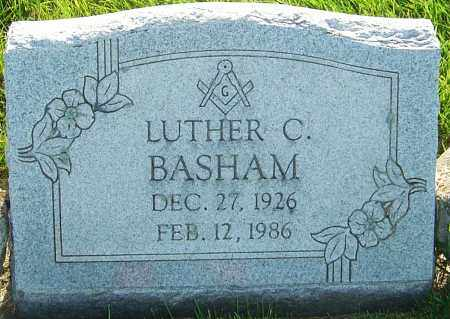 BASHAM, LUTHER C - Franklin County, Ohio | LUTHER C BASHAM - Ohio Gravestone Photos