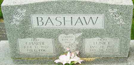BASHAW, CHARLIE - Franklin County, Ohio | CHARLIE BASHAW - Ohio Gravestone Photos