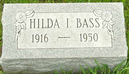 BASS, HILDA I - Franklin County, Ohio | HILDA I BASS - Ohio Gravestone Photos