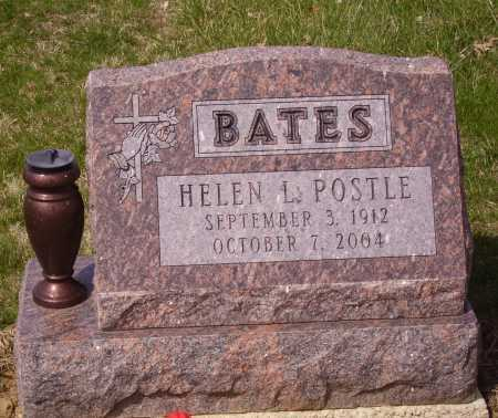 POSTLE BATES, HELEN L. - Franklin County, Ohio | HELEN L. POSTLE BATES - Ohio Gravestone Photos