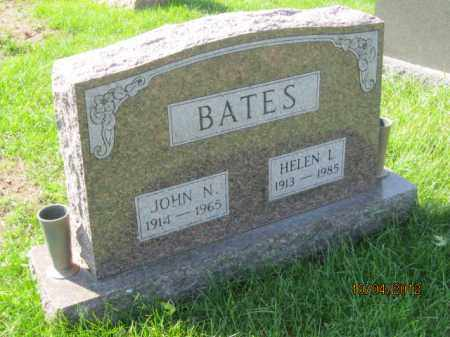 BATES, JOHN N - Franklin County, Ohio | JOHN N BATES - Ohio Gravestone Photos