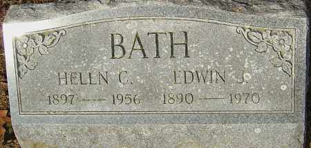 BATH, EDWIN H - Franklin County, Ohio | EDWIN H BATH - Ohio Gravestone Photos