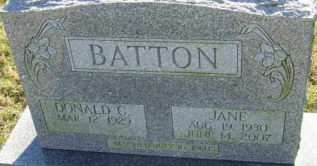 ROBERTS BATTON, JANE - Franklin County, Ohio | JANE ROBERTS BATTON - Ohio Gravestone Photos