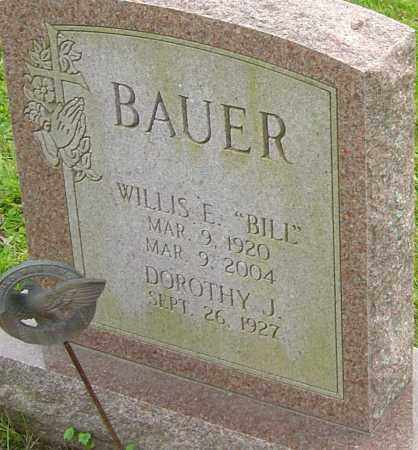 BAUER, WILLIS - Franklin County, Ohio | WILLIS BAUER - Ohio Gravestone Photos