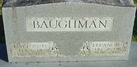 LITTLE BAUGHMAN, ELEANOR JEAN - Franklin County, Ohio | ELEANOR JEAN LITTLE BAUGHMAN - Ohio Gravestone Photos