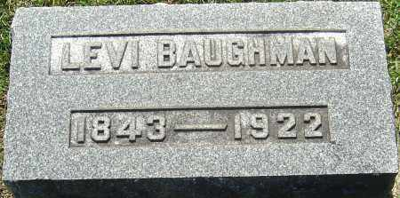 BAUGHMAN, LEVI - Franklin County, Ohio | LEVI BAUGHMAN - Ohio Gravestone Photos