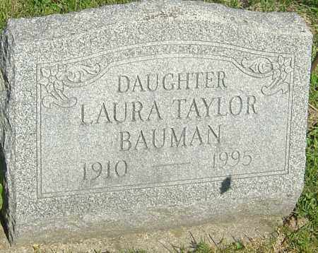 BAUMAN, LAURA - Franklin County, Ohio | LAURA BAUMAN - Ohio Gravestone Photos