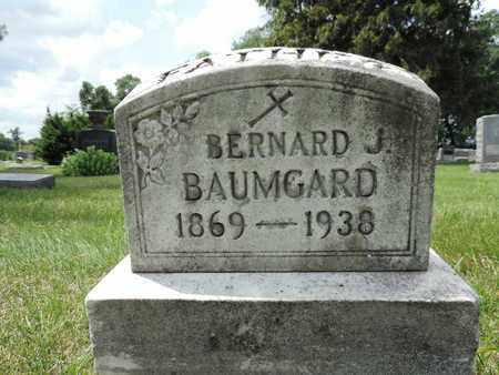 BAUMGARD, BERNARD J. - Franklin County, Ohio | BERNARD J. BAUMGARD - Ohio Gravestone Photos